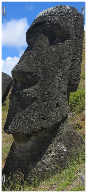 Intravital portraits of the ancients. Statues of Easter island